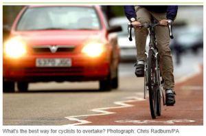 UK cyclist traffic
